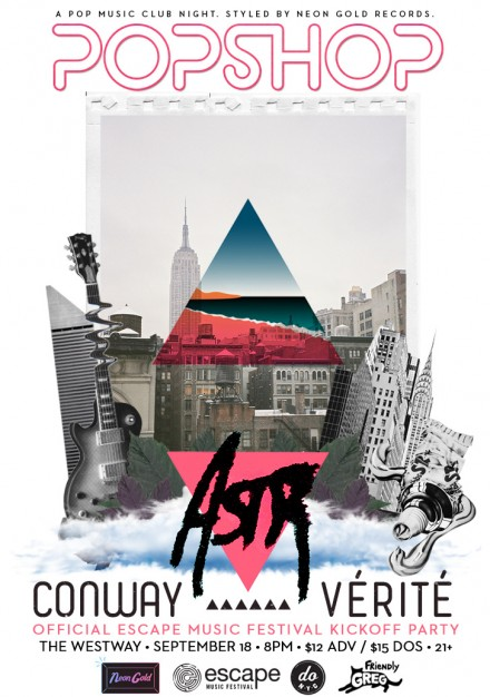 Neon Gold Presents: Escape Music Fest Pre-party feat. ASTR, VERITE, CONWAY