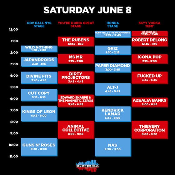 governors-ball-saturday-schedule