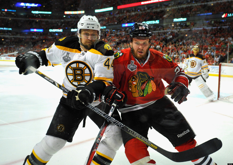 2013 NHL Stanley Cup Final Boston Bruins Chicago Blackhawks