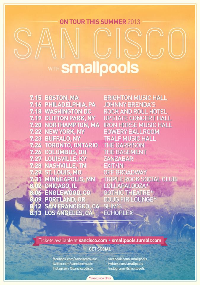 smallpools-san-cisco-tour-calendar-schedule