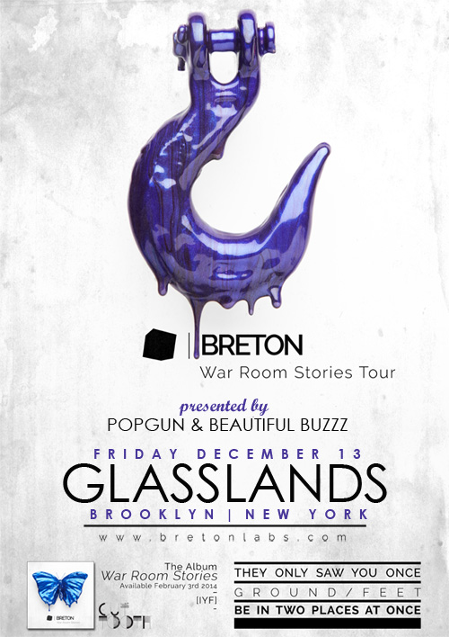 Breton, Beautiful Buzzz, Glasslands, NY, NYC
