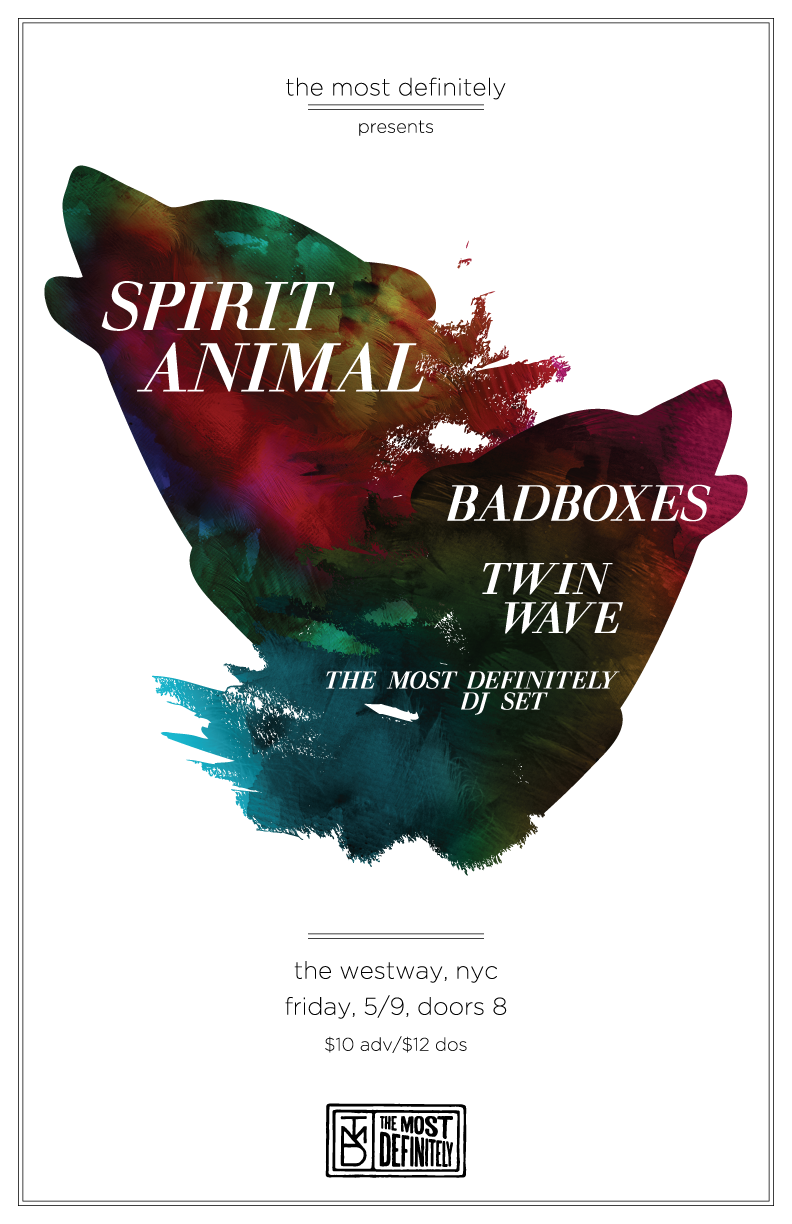TMD-Presents-Spirit-Animal-Poster